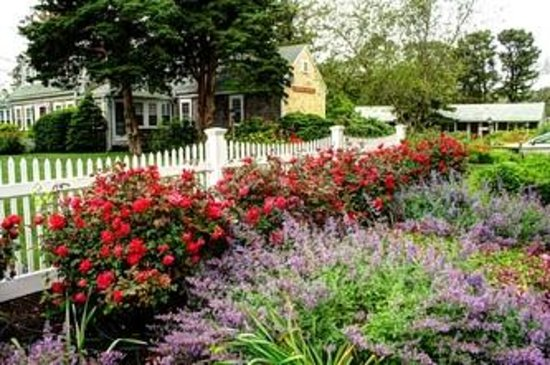 Allen Harbor Breeze Inn & Gardens: Garden Setting
