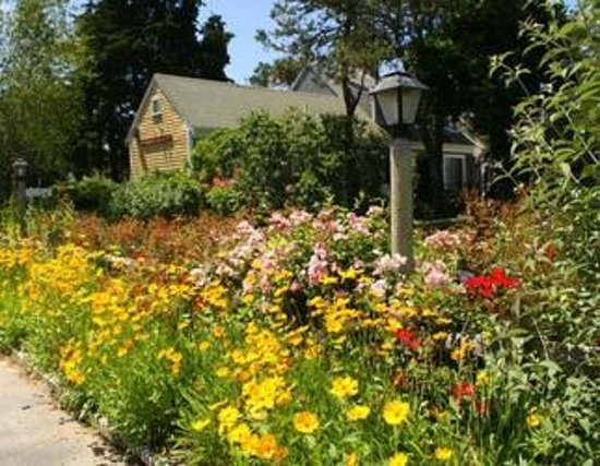 ‪‪Allen Harbor Breeze Inn & Gardens‬: Welcome to our beautiful gardens‬