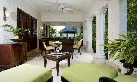 Sandy Lane Hotel: Villa Patio Outdoor Living AH