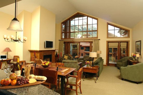 Lodge at Mountaineer Square: Penthouse Suite