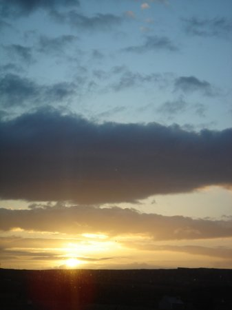 Thurso, UK: The view from the room