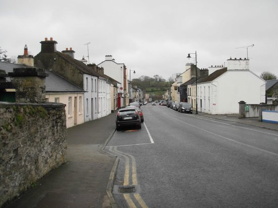 The Laurels B & B: Looking down the main street of Mohill, in the other direction