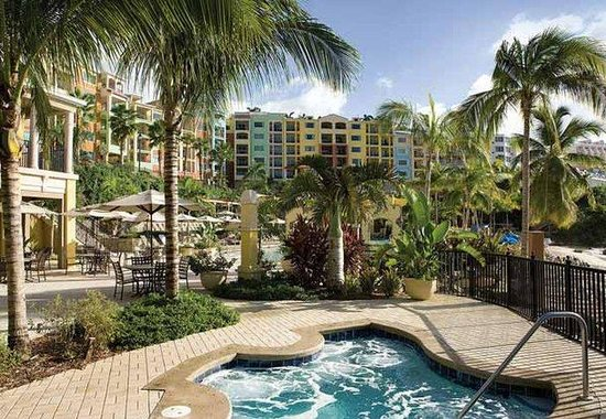 Marriott&#39;s Frenchman&#39;s Cove: Outdoor Whirlpool Spa