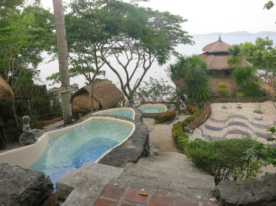 Mabini, Philippines: Soaking pool