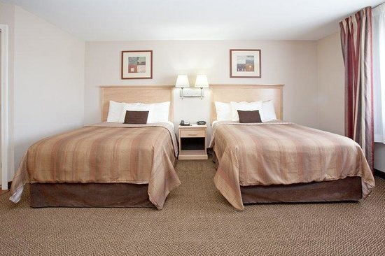 Candlewood Suites Sheridan: Double Bed Guest Room