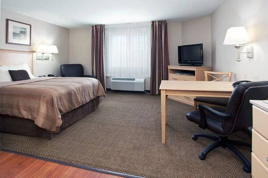 Candlewood Suites Sheridan: Single Bed Guest Room