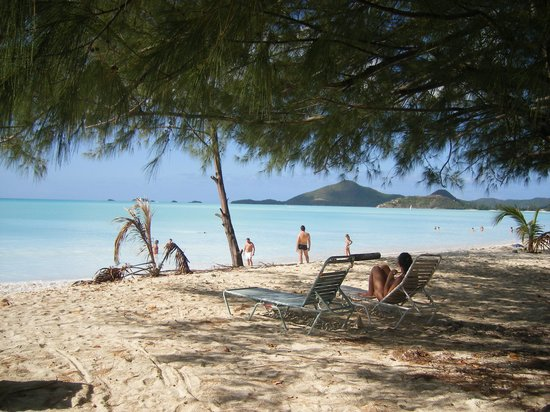Jolly Harbour, Antigua: Fastastic beach FAB tours took us to