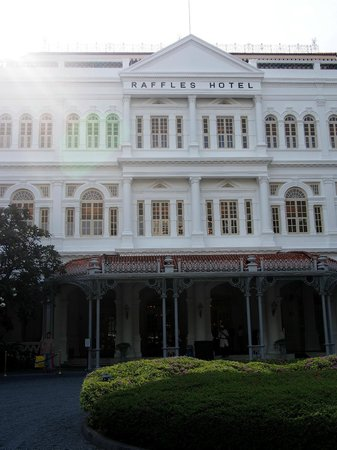Raffles Hotel Singapore: Colonial charme in the center of Singapore