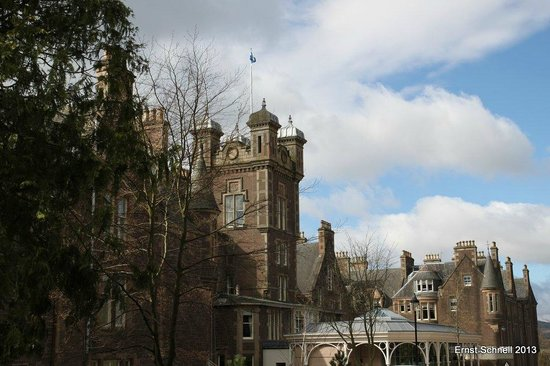 Crieff, UK: The main building