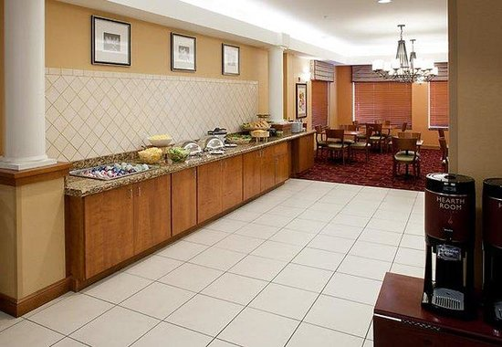 Residence Inn Chicago Lake Forest / Mettawa: Breakfast Buffet