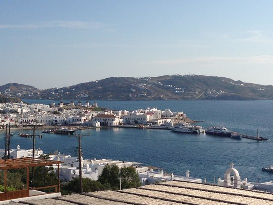 Mykonos View by Semeli Hotel: View from pool