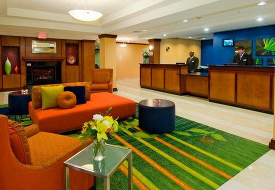 Fairfield Inn and Suites Austin North / Parmer Lane: Lobby