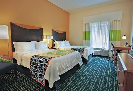Fairfield Inn & Suites St. Augustine: Double/Double Suite