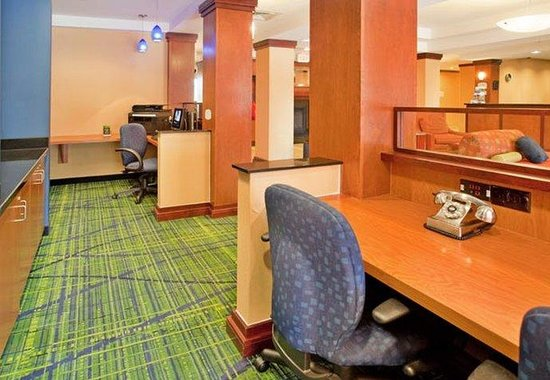 Fairfield Inn and Suites Austin North / Parmer Lane: Business Center