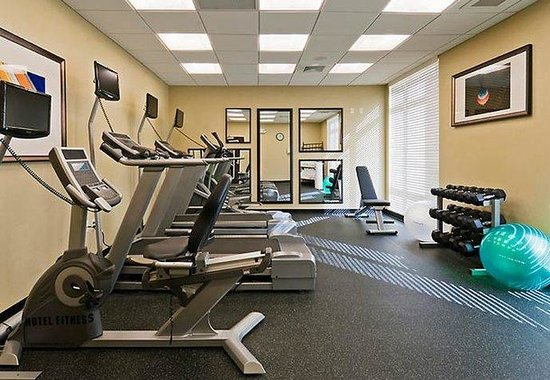 Springhill Suites Marriott West Palm Beach: Fitness Room