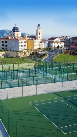Normal Melia Villaitana Tennis Paddle Tennis