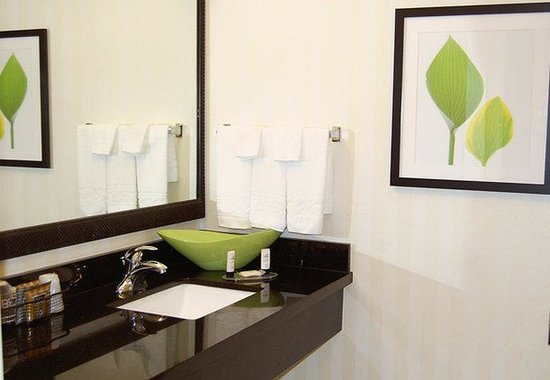 Fairfield Inn &amp; Suites Jonesboro: Guest Bathroom