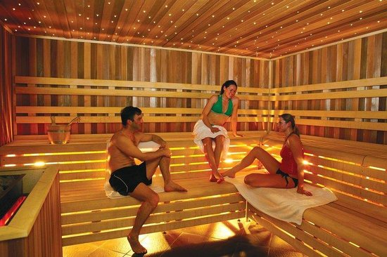 Tamworth, UK: Sauna @ The SnowDome - available in the Leisure Package