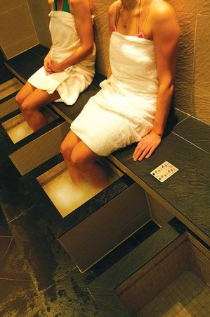 Tamworth, UK: Footspa @ The SnowDome available in the Leisure Package
