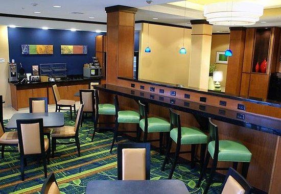 Fairfield Inn & Suites Kingsburg: Breakfast Dining Area