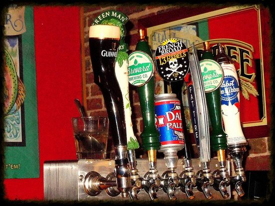 Brevard, Caroline du Nord : Bar tap from the Square Root