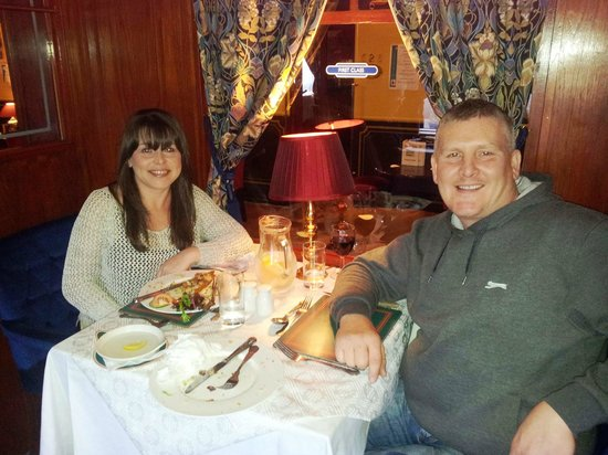 , UK: Samuel Bowers at Carriages Restaurant