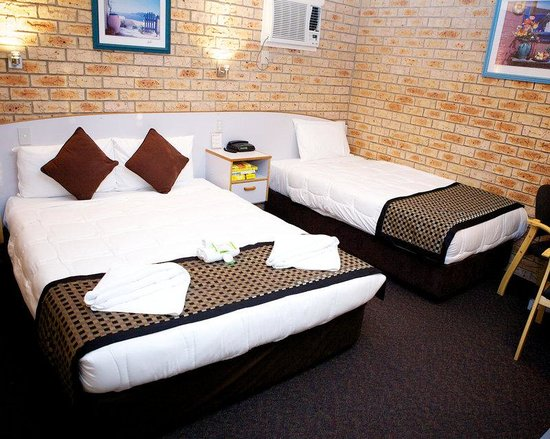 Tweed Heads, Australia: Twin Triple Room
