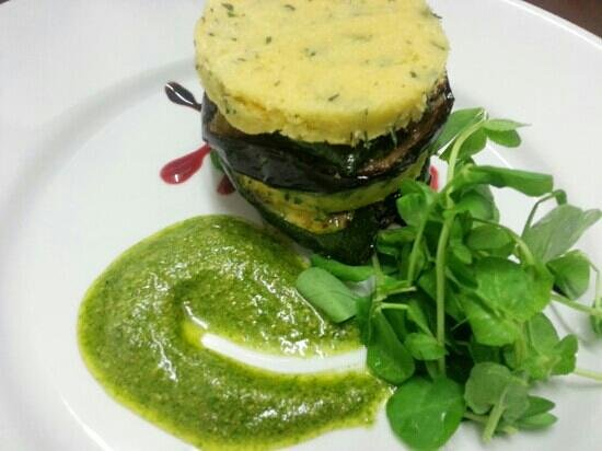 Barry, UK: vegetable stack