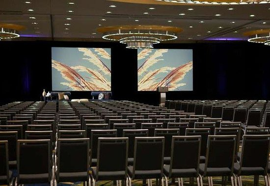 Renaissance Arlington Capital View Hotel: Grand Ballroom – Theatre Setup