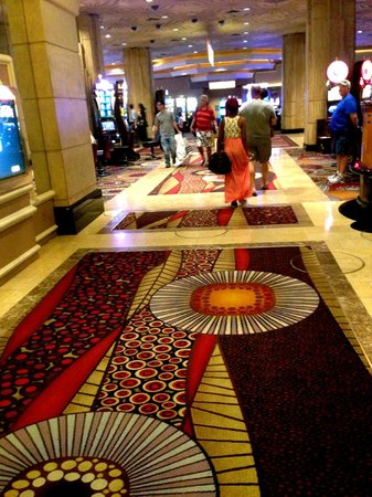 MGM Grand Hotel and Casino : Hotel floor