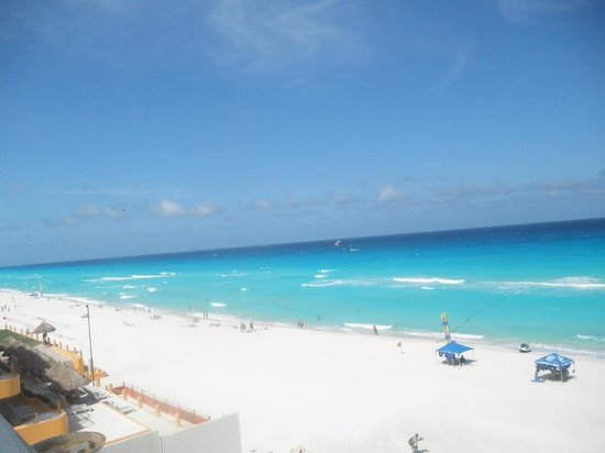 Beach from Oasis Cancun