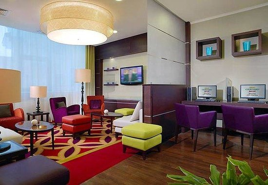 Courtyard by Marriott Irkutsk City Center: Lobby Theater Area