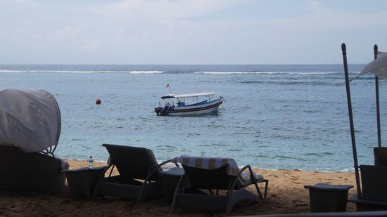 The Westin Resort Nusa Dua, Bali: Beach from Ikan Restaurant