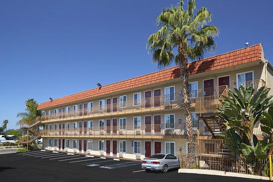 ‪‪Red Roof Inn - Pacific Beach, San Diego‬: Exterior‬