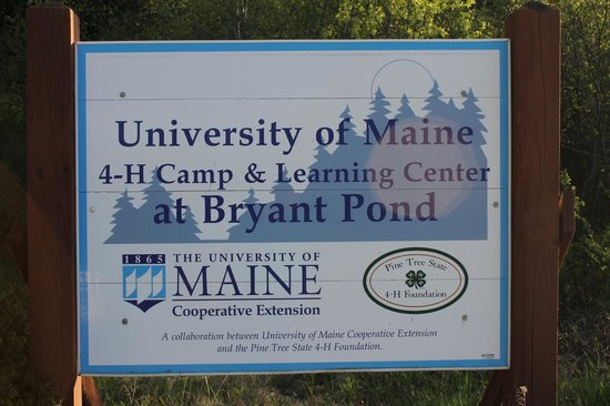 Bethel, ME: University of Maine's 4H Camp and Learning Center at Bryant Pond.