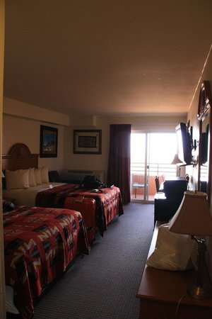 The View Hotel: our room # 221