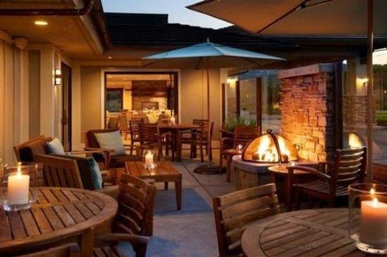 ‪‪Mill Valley‬, كاليفورنيا: Patio Fire Pit / Holiday Inn Express Mill Valley‬