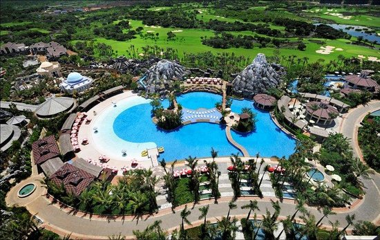 Haikou, Chine : MHOutdoor Swimming Pool