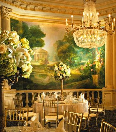 JW Marriott Essex House New York: Grand Salon - Art Deco Architecture
