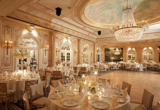 JW Marriott Essex House New York: Grand Salon - Wedding Reception
