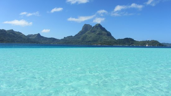 Bora Bora Pearl Beach Resort & Spa: Amazing view!