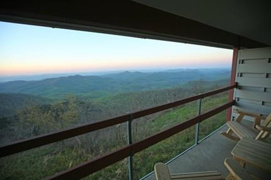 Waynesville, Carolina del Norte: Balcony