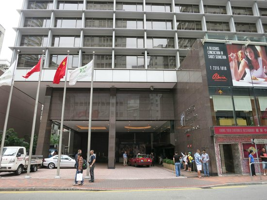 Holiday Inn Golden Mile: Driving/Walking Entrance on Mody Rd. You can also walk in from Nathan Road.