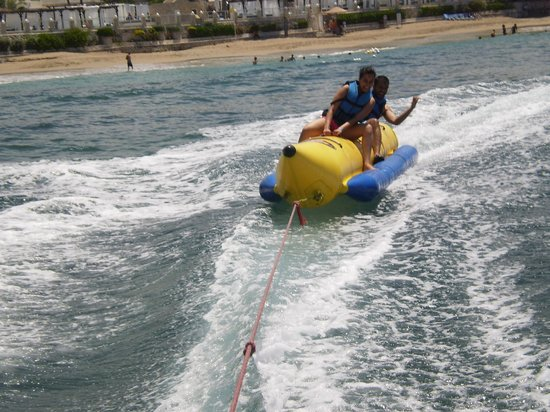 Cofresi Palm Beach & Spa Resort: Banana Boat!
