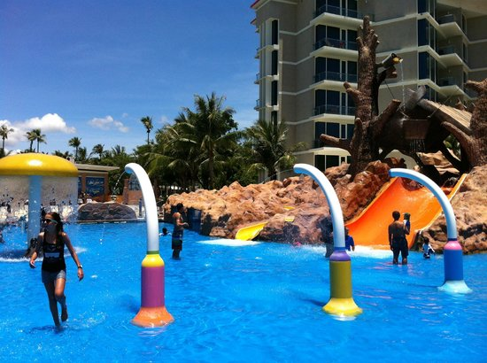 Таланг, Таиланд: One of the pool areas for younger children