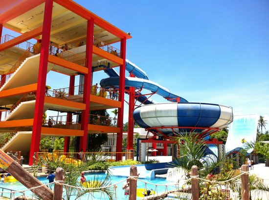Thalang District, Thailand: Slide for adults and older children