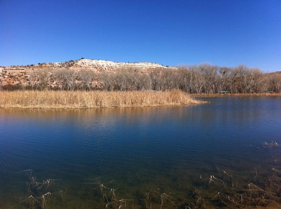 Cottonwood, AZ: Fishing with a View