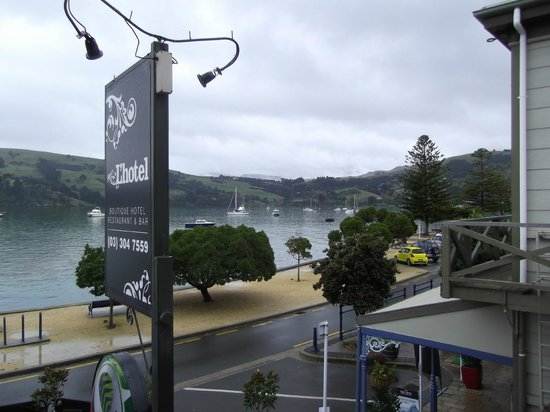 L'Hotel Akaroa: view from room 1
