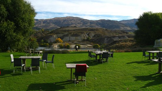 Cromwell, New Zealand: Great view from Carrick