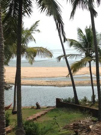 Kannur Beach House: View from balcony